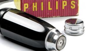První rotační holicí strojek značky Philips - Philishave