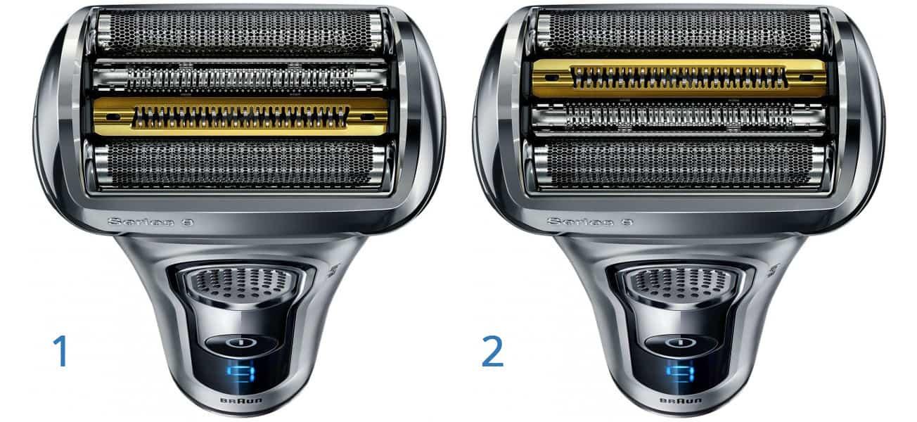 Má orientace holicí hlavy vliv na výkon při holení?