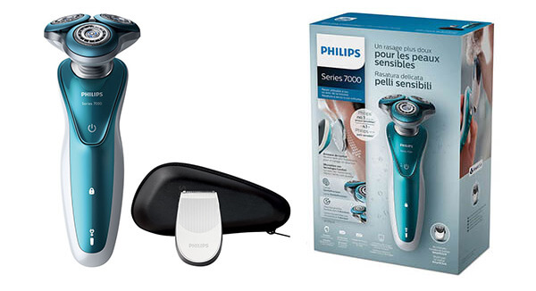 Test a recenze  holicí strojek Philips Series 7000 S7370 12 Wet ... fd42f7100e