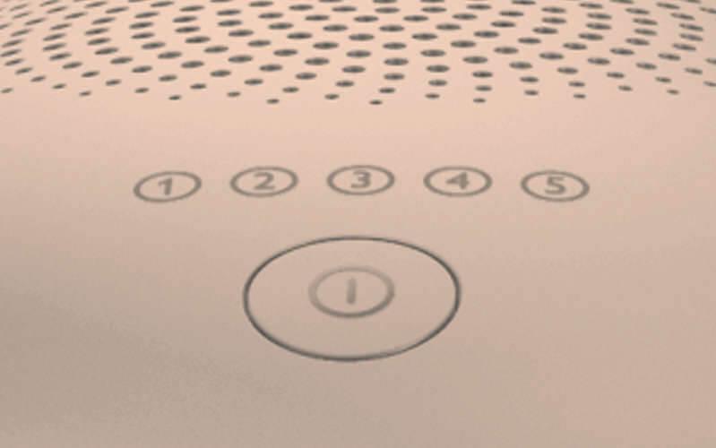 4d52dad961 Philips Lumea Advanced nabízí 5 různých úrovní intenzity světla.