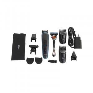Multifunkční zastřihovač na vlasy, vousy a chloupky Braun MGK3080 9v1