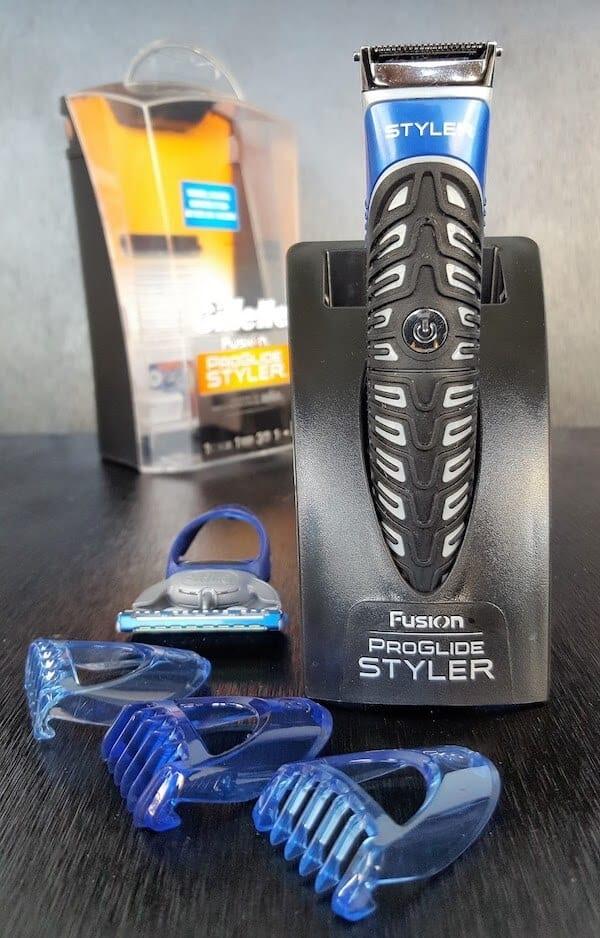 Gillette Fusion ProGlide Styler 2v1, obsah balení